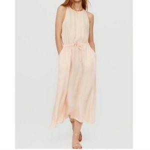 Lou & Grey Luster Cutout Midi Dress Size Medium